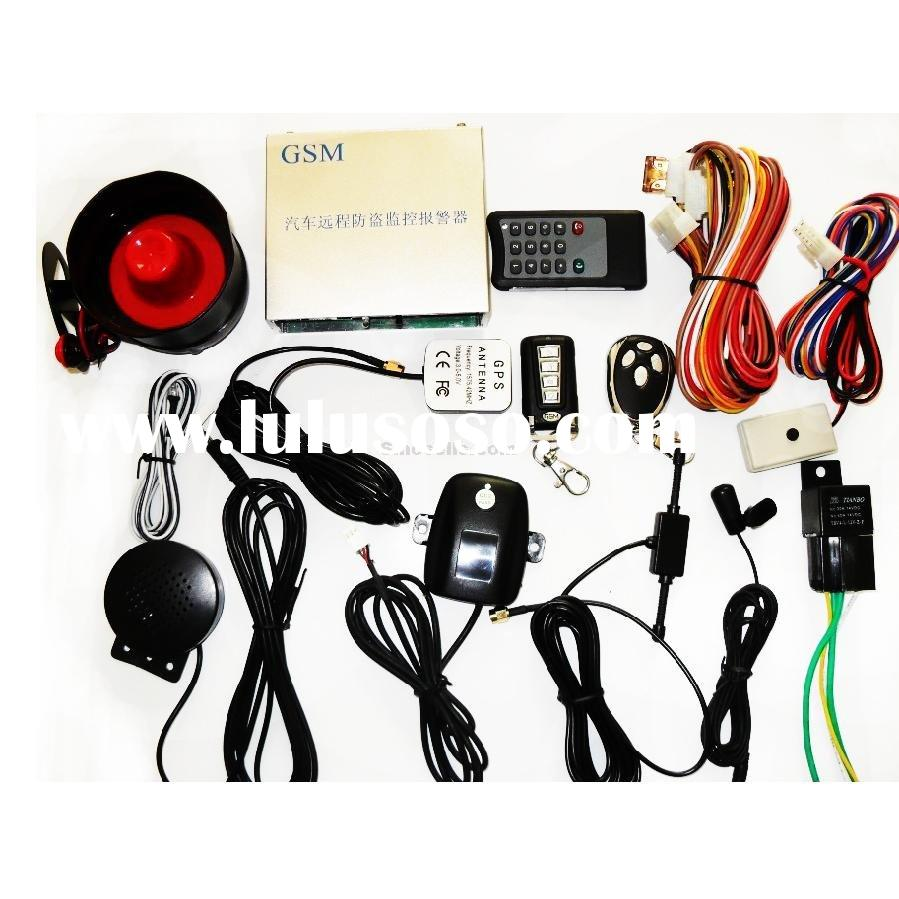 Car Alarm System for GPS-C (GPS+GSM)--auto accessory