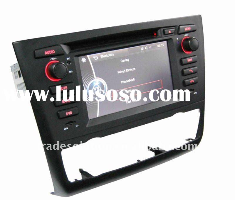 Car DVD Player with GPS HD Screen Bluetooth ipod iphone Steering Wheel Control support for BMW 1 Ser