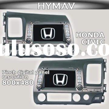 Car DVD for HONDA CIVIC 7INCH HD DIGITAL PANEL WITH DVD GPS NAVIGATION SYSTEM PICTURES IN PICTURES