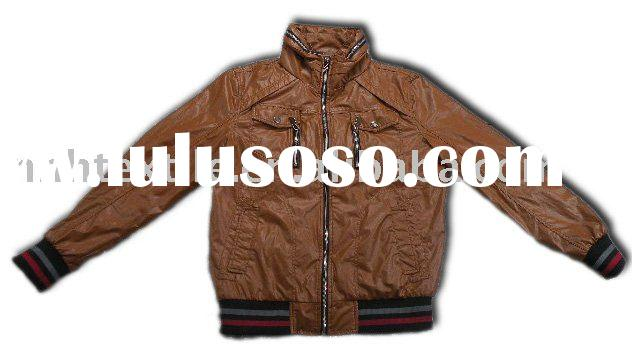 Cheap high quality leather jacket for men
