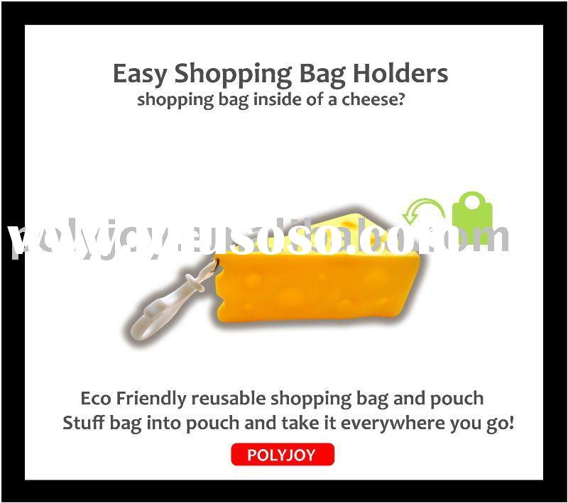 Cheese shape Environmental Friendly Shopping bags