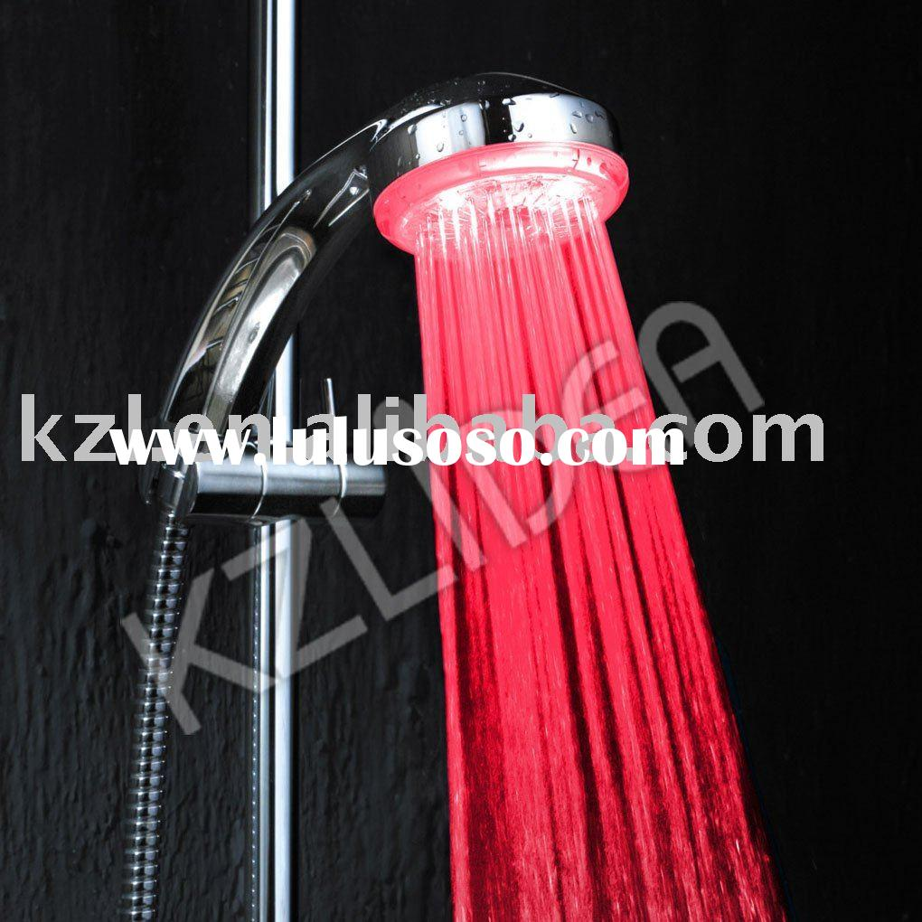 Chrome plated led rainfall shower head (CE&ROHS)