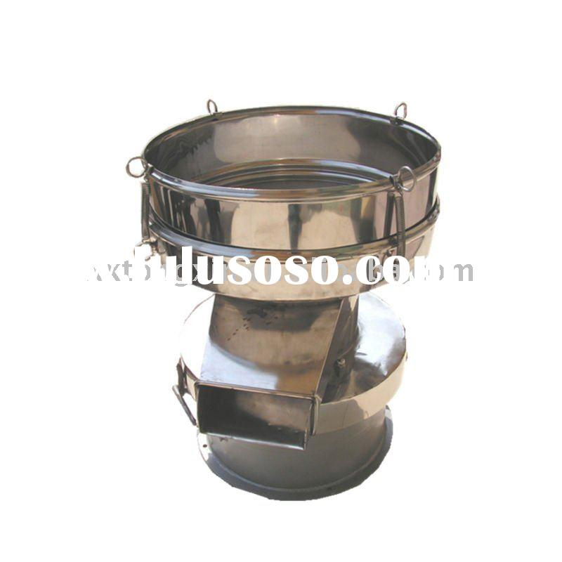 Coconut milk filtrate sieve machine