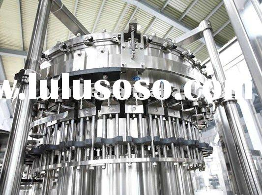 Cola Filling Machine, Balanced pressure filling, can fill gas drink