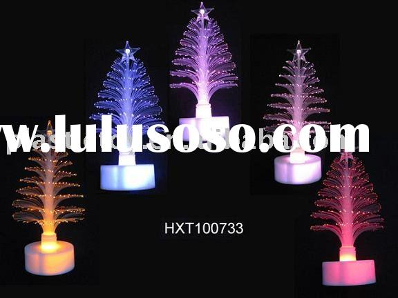 Colorful Fiber Optic Christmas Tree HXT100733,xmas tree,xmas decoration