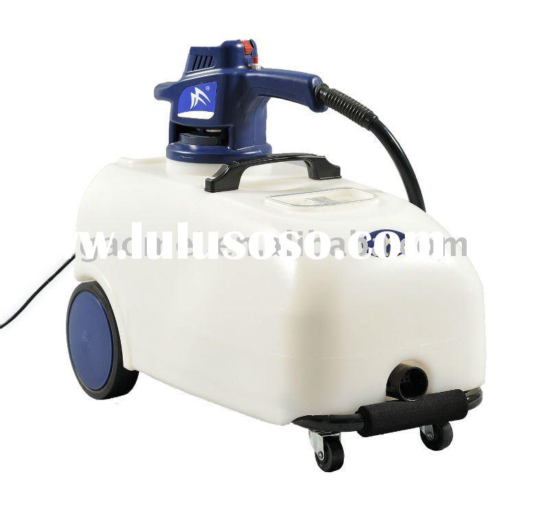 Combines the two functions of foaming and electric brushing into one system.Sofa cleaning machine M1
