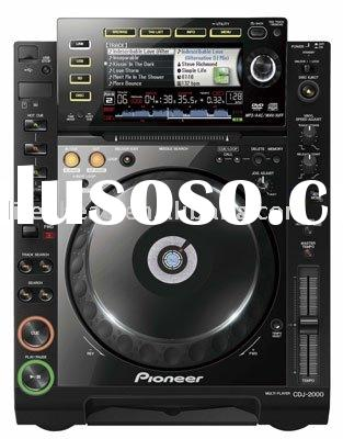 Compact, portable, expandable audio DJ CD PLAYER system CDJ-2000