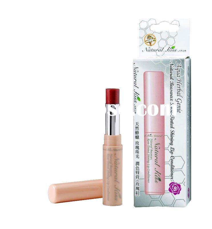 Cosmetic-Beeswax Lipstick-Rose Essential Oil (Skin Care)