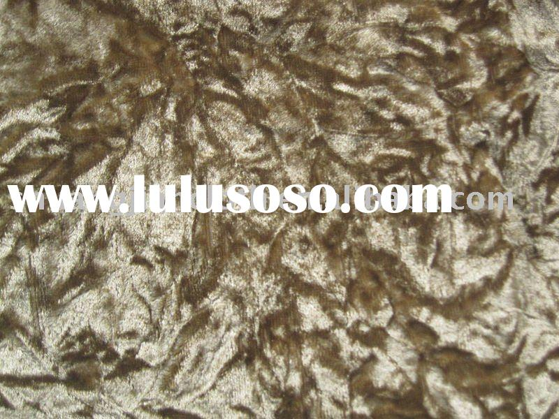 Crushed Woven Velvet Fabric--For Sofa and car covers