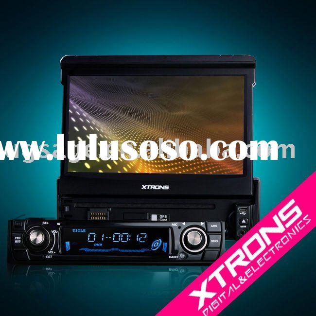 """D709: 7"""" in dash dvd player with touch screen & Bluetooth"""