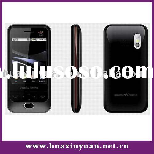 D998 DVB-T TV out schwarz mobile phone with dual sim