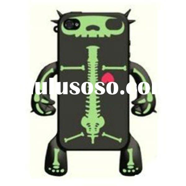 Devil silicone mobile phone case for iphone(BMM1282)