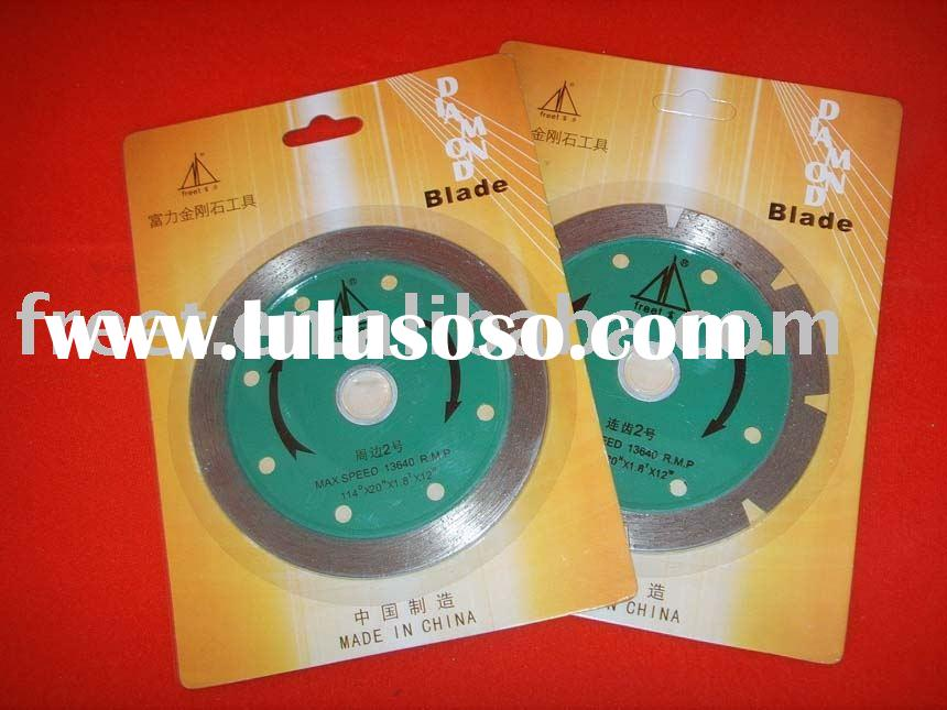 Diamond Sintered Saw Blade supplier, cutting granite, stones, marble, concrete,glass etc