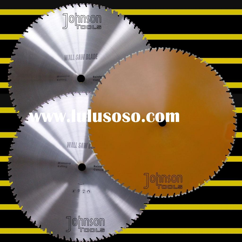 Diamond tool: 1200mm laser wall saw blade with tapered U