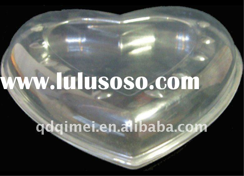 Disposable Biodegradable PP Eco-friendly Tasteless Blister Plastic Food Container