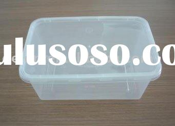 Disposable Plastic Food Container, made of PP material