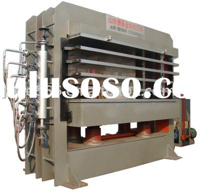 Door hot press/hot press machine/wood machine/wood machinery/plywood machine/hot press for door plat