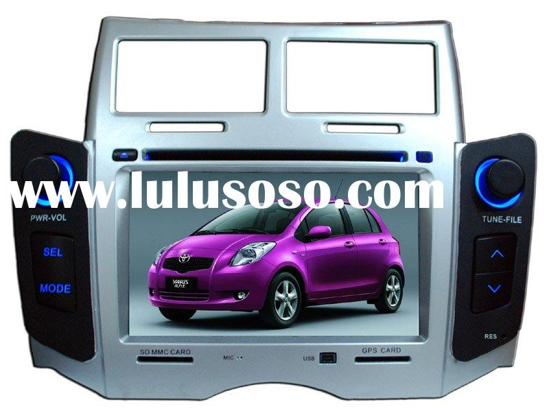Double din car DVD/Car DVD GPS player perfectly match TOYOTA Yaris(TP-8070--New Arrival)