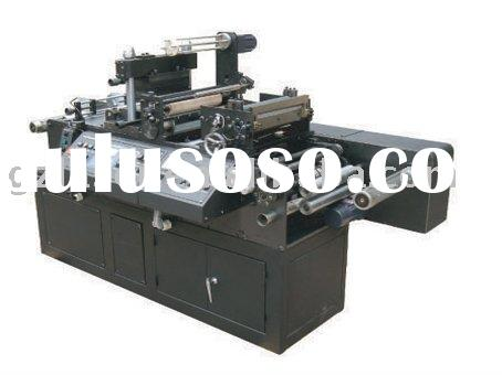 Double head hot stamping machine and automatic die cutting machine