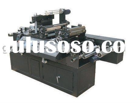 Double head hot stamping machine, automatic die cutting machine