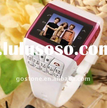 Dual Card Quad Band Bluetooth Watch Mobile Phone Q3