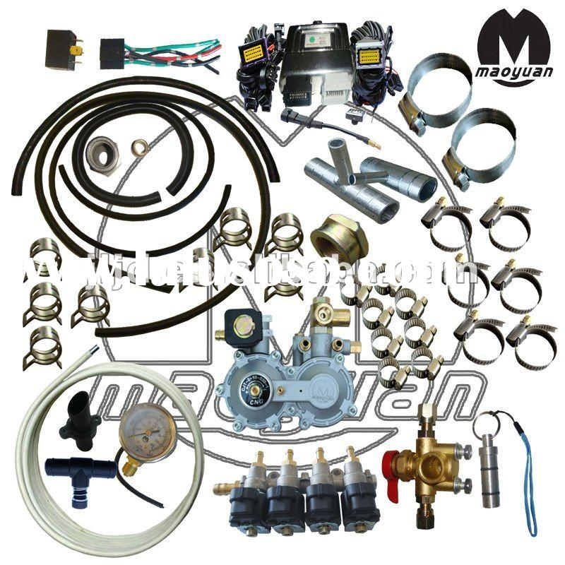 Dual Fuel Car cng conversion kits for CNG sequential injection system