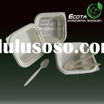 Eco friendly disposable products, food box