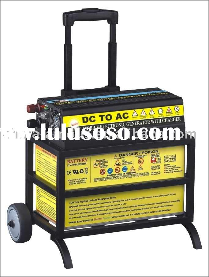Electric Power Station with Charger (100Ah battery with 110V/220V AC output)