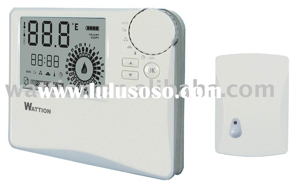 Electric heating electric heating with thermostat for Electric radiant heat thermostat