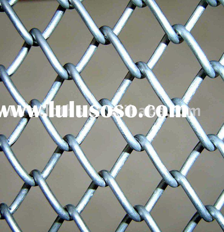 Electro Hot-dipped Galvanized Chain Link Fence