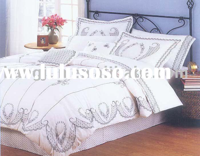 Embroidered Bedding set