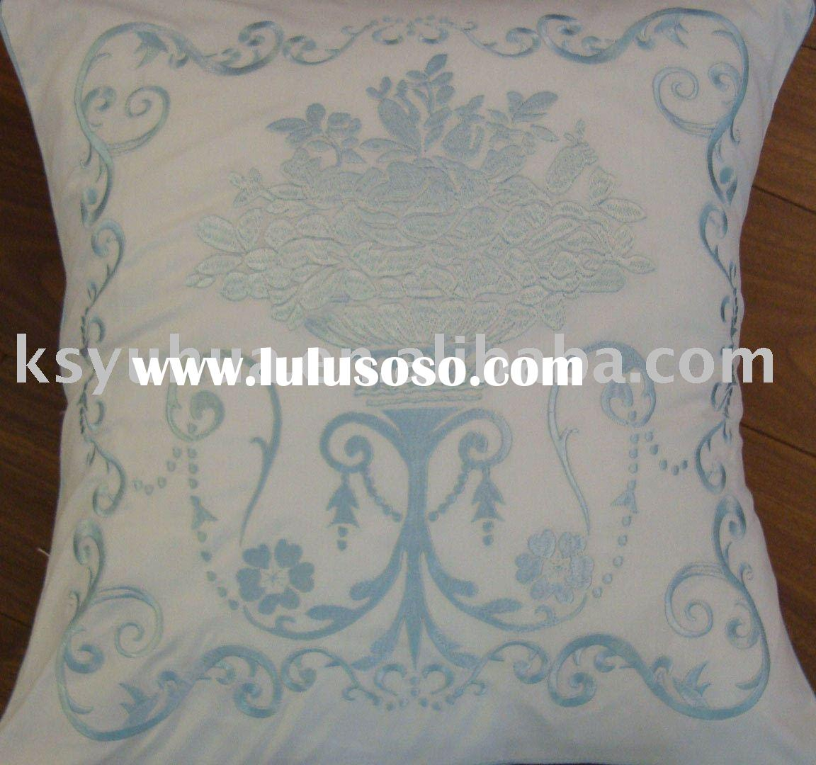 Embroidery cushion pads safa bed pillow cushion cover -victory laurel