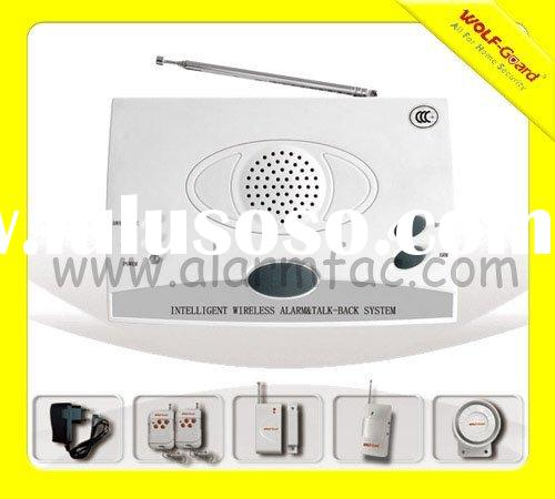 Emergency Alarm System with Voice and Intercom