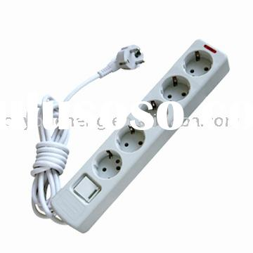 Extension/electric/electrical Socket, outlet, 5 ways