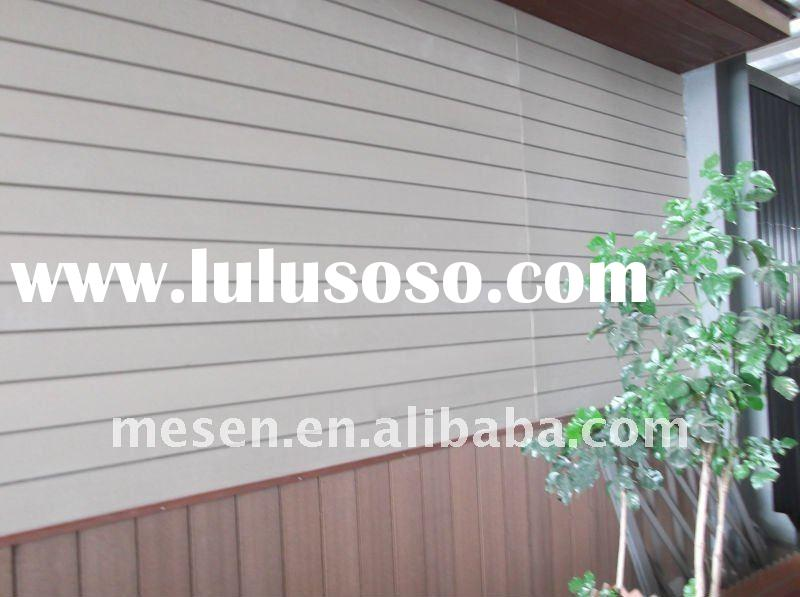 Exterior Wood Plastic Composite Decorative Wall Covering Panel