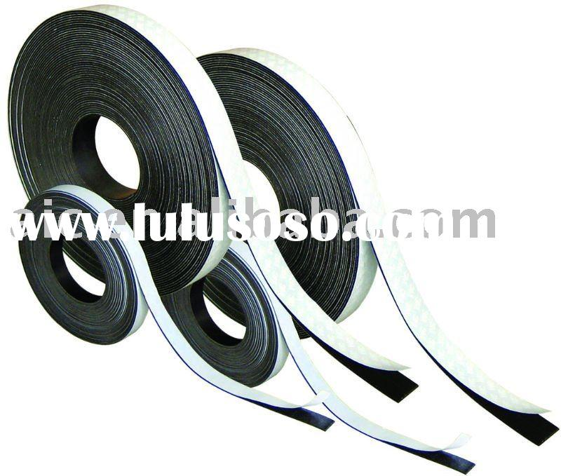 Extrusion Magnet Strips 3M Self-Adhesive Laminated