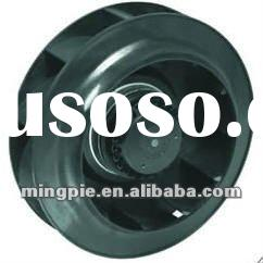 FLJ-B-250 Backward curved inclined plastic blade impeller centrifugal fan with external rotor motor
