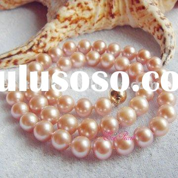 Fashion Jewelry Freshwater Pearl Necklace Designs