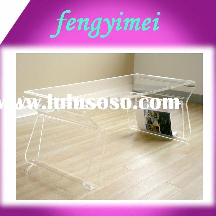 Fashion clear acrylic furniture,plexiglass desk, perspex furnishings