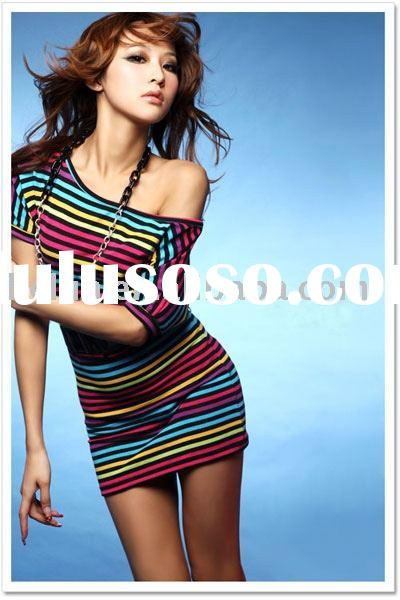 Fashion suits, Modal/Soybean/Bamboo, Women T-shirts
