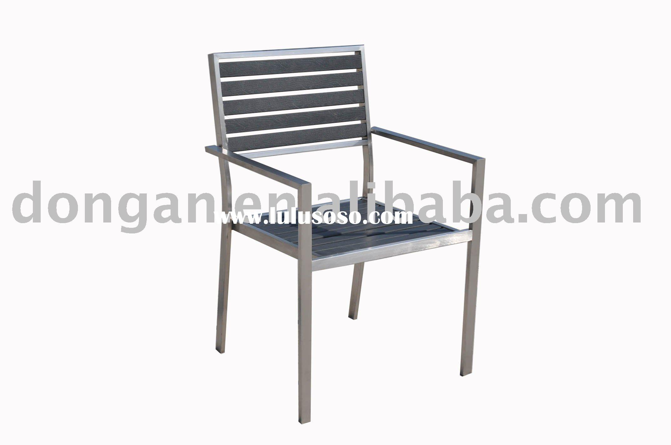 Fashionable stainless steel frame furniture indoor/outdoor/furnitureSPS-C02A chair