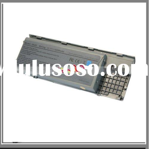 For Dell Latitude Computer Battery D630 D620 PC764(6cell 11.1V 5200mAh )Silver