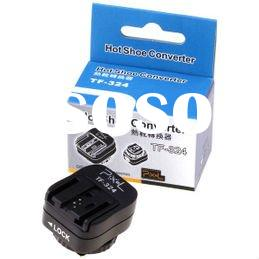 For Nikon Canon Flash Hotshoe to Sony Hot Shoe Convert Adapter