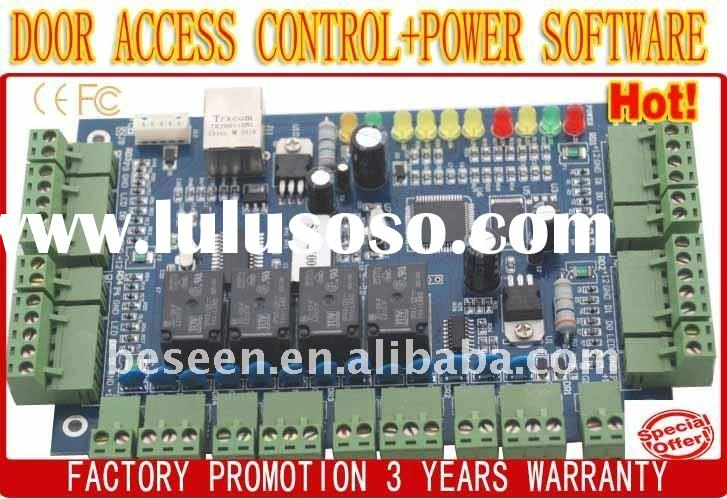 Four-door TCP/IP Network security access control