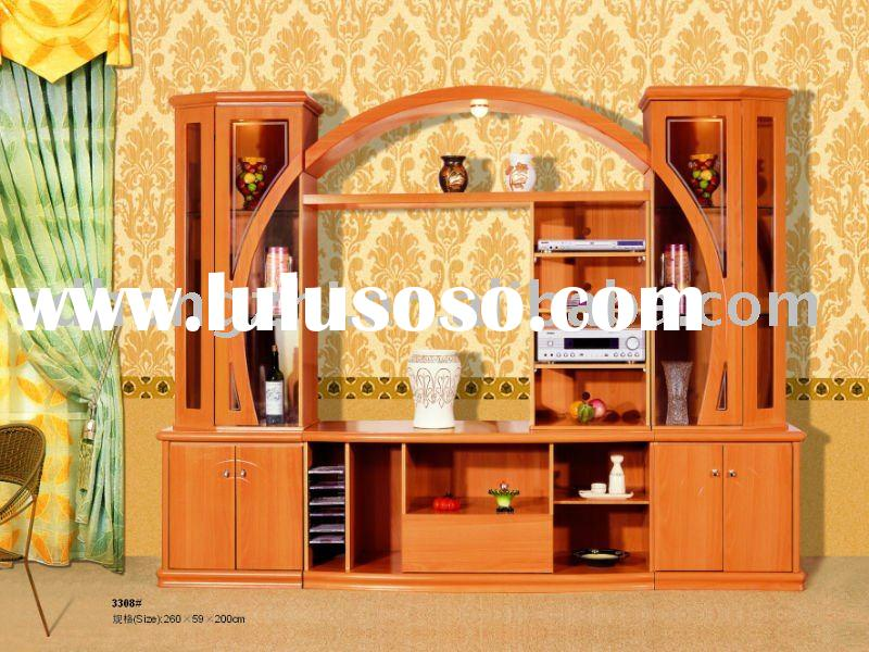 French Style Living Room Furniture 3308# Entertainment Unit