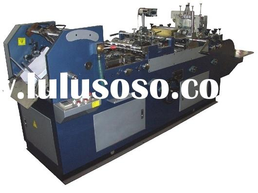 Full-automatic envelope&paper bag sealing machine