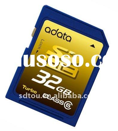 Full capacity high speed 32GB class10 sd memory card
