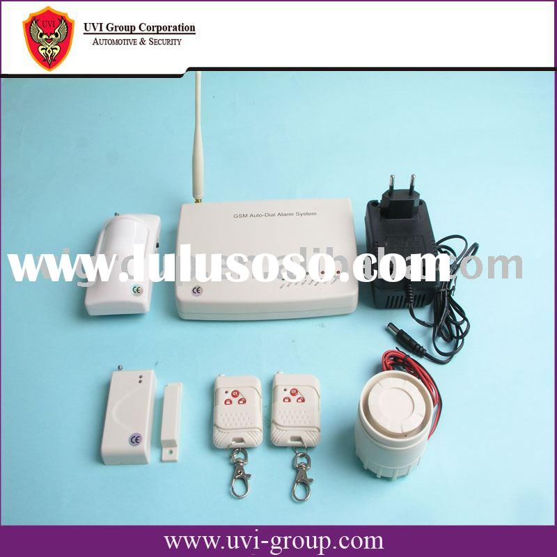 GSM Alarm with SMS sending and Remote control GSM-M3A