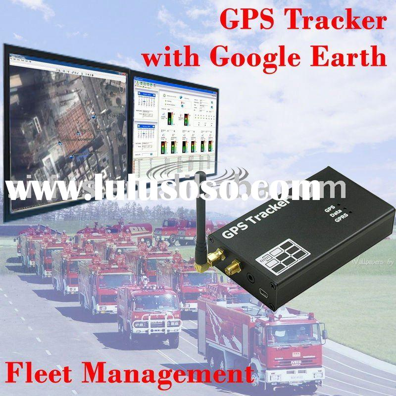 GSM GPS Data Tracker with google maps