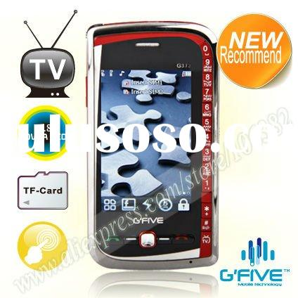 G`FIVE G373 TV mobile phone with dual sim and full touch screen